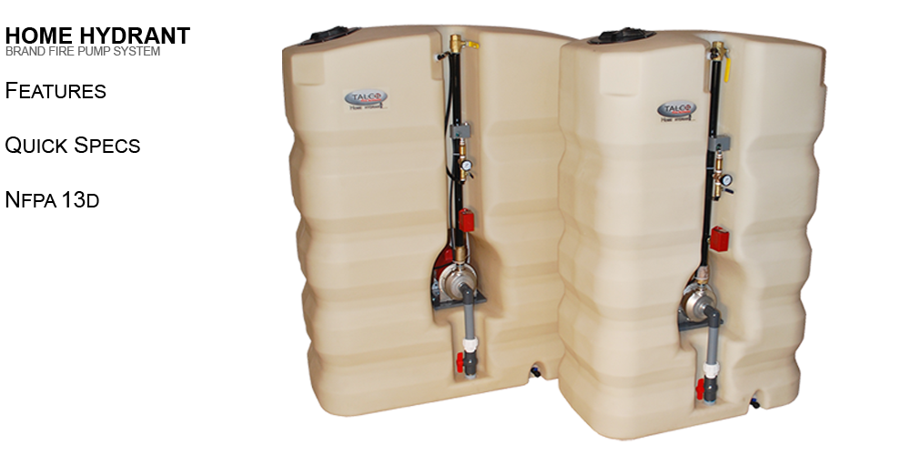 Fire Protection Tanks Save Money And Are NFPA 13D Compliant